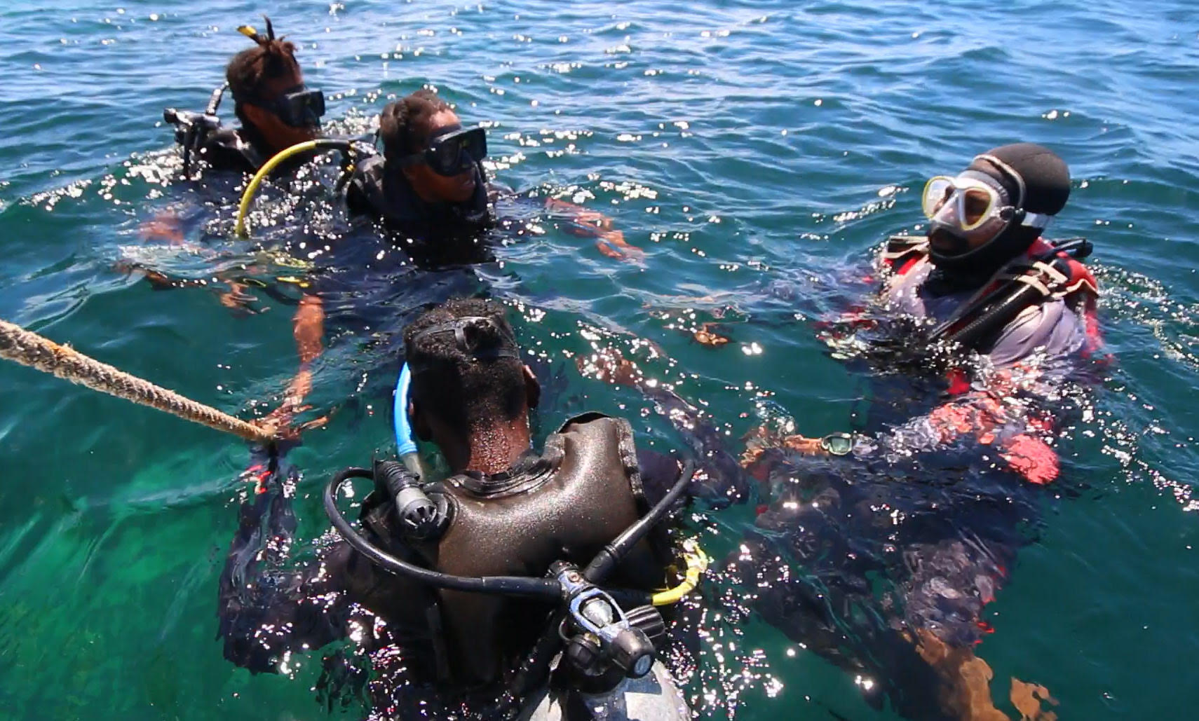 Training for Park Rangers – Advance SCUBA Diving